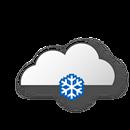 Dull, slightly snowfall